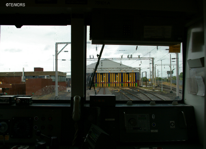 The depot from a class 321