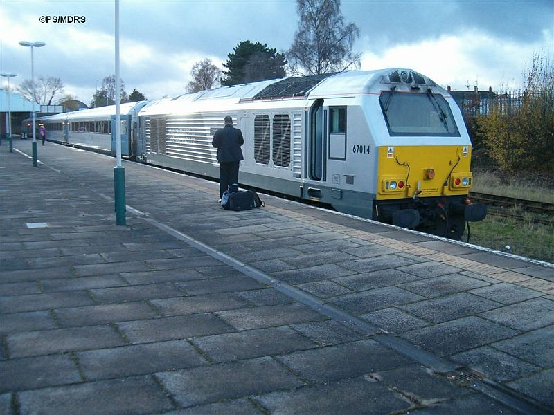 67014 at Wrexham