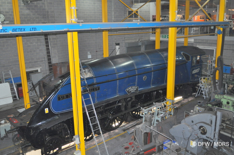Overhaul of 60007 Sir Nigel Gresley  (Dave Woodhead).