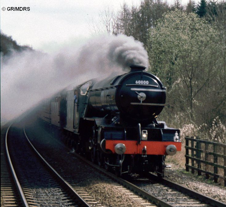 60800 passes Seer Green (Gordon Rippington)